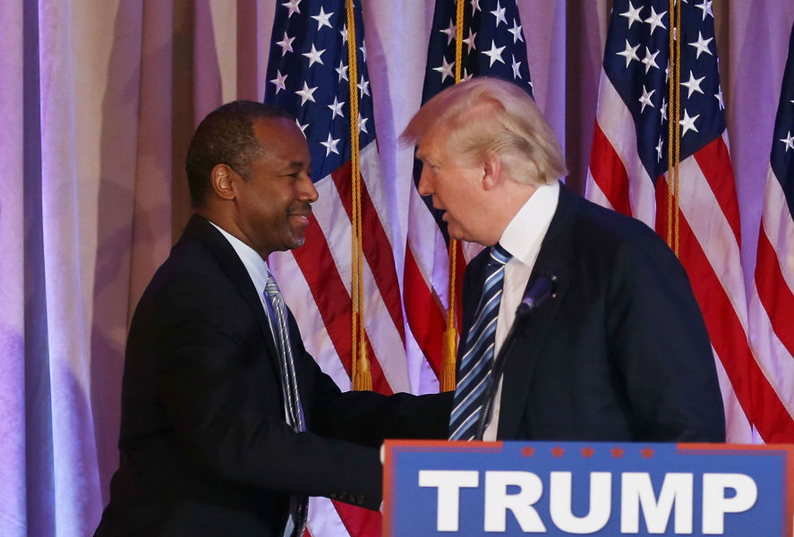 Donald Trump a nommé ce lundi Ben Carson ministre du Logement. (Photo d'illustration)