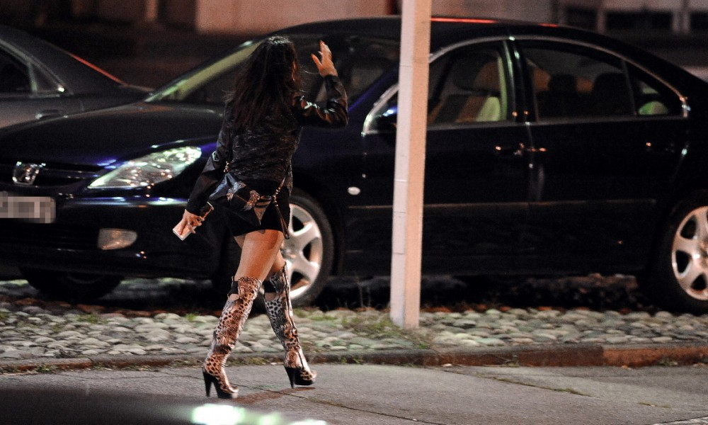 Une prostituée à Toulouse, en 2013 (image d'illustration).