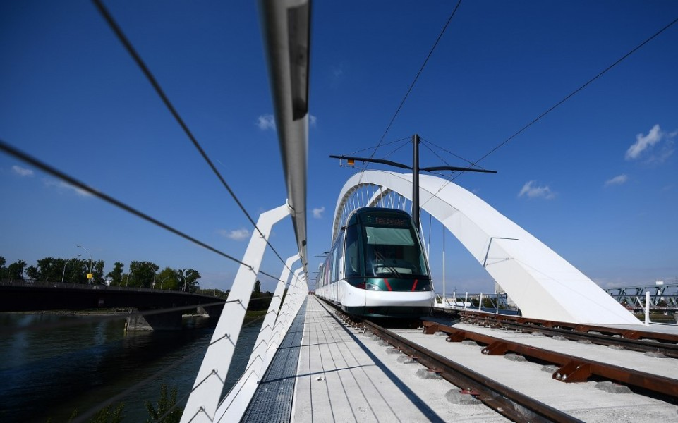 Le tramway de Strasbourg (PHOTO D'ILLUSTRATION)