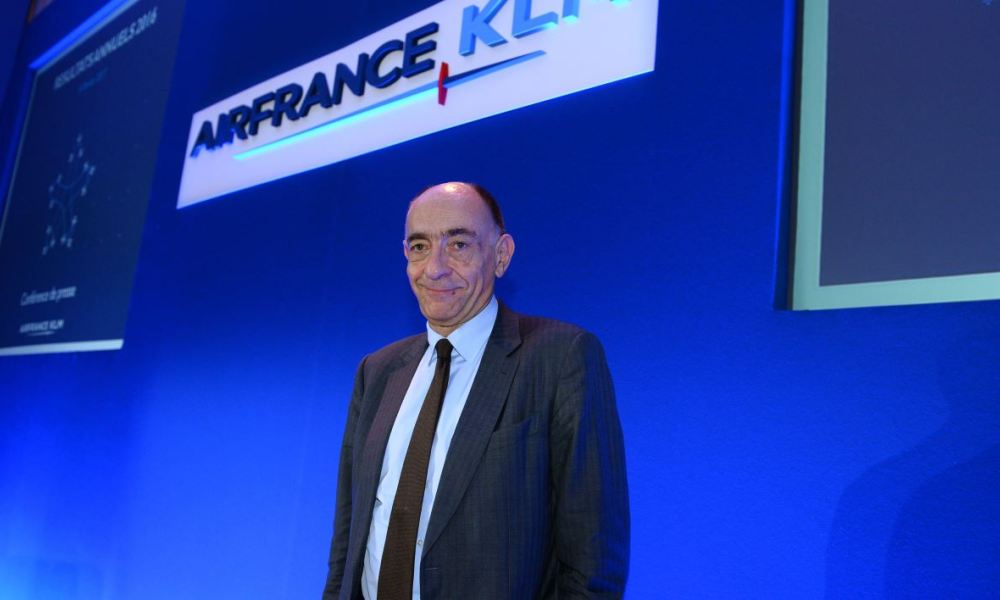 Le PDG d'Air France - KLM a gagné un demi-million d'euros en 2016