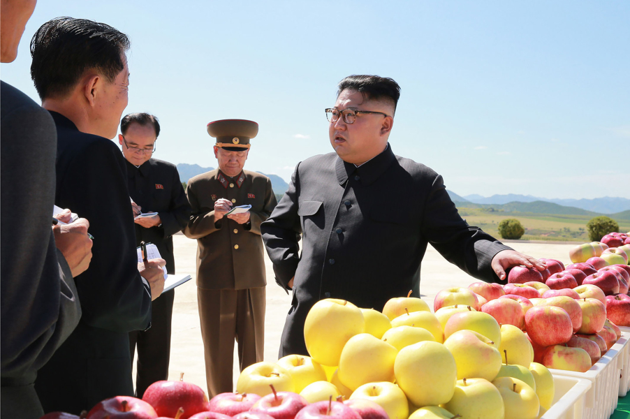 """MANDATORY CREDIT """"AFP PHOTO/KCNA VIA KNS"""" - NO MARKETING NO ADVERTISING CAMPAIGNS - DISTRIBUTED AS A SERVICE TO CLIENTS THIS PICTURE WAS MADE AVAILABLE BY A THIRD PARTY. AFP CAN NOT INDEPENDENTLY VERIFY THE AUTHENTICITY, LOCATION, DATE AND CONTENT OF THIS IMAGE. THIS PHOTO IS DISTRIBUTED EXACTLY AS RECEIVED BY AFP."""