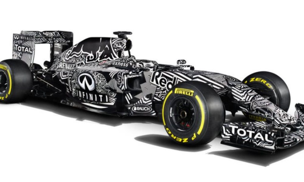 En image : La nouvelle Red Bull version camouflage