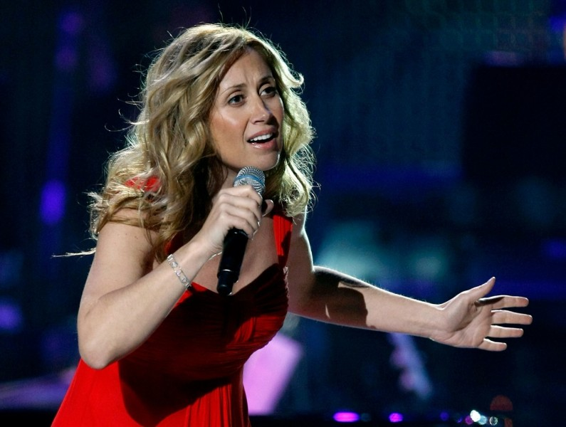 LAS VEGAS - OCTOBER 15: Singer Lara Fabian performs during the David Foster and Friends concert at the Mandalay Bay Events Center October 15, 2010 in Las Vegas, Nevada.