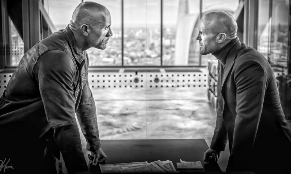 Dwayne Johnson et Jason Statham