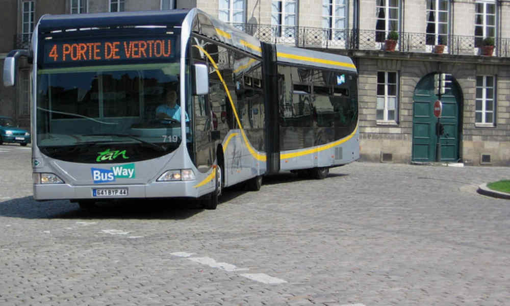 Ce lundi matin, peu de bus circulent dans l'agglomération nantaise, à la suite de l'agression d'un conducteur de tram durant le week-end. (Photo d'illustration)