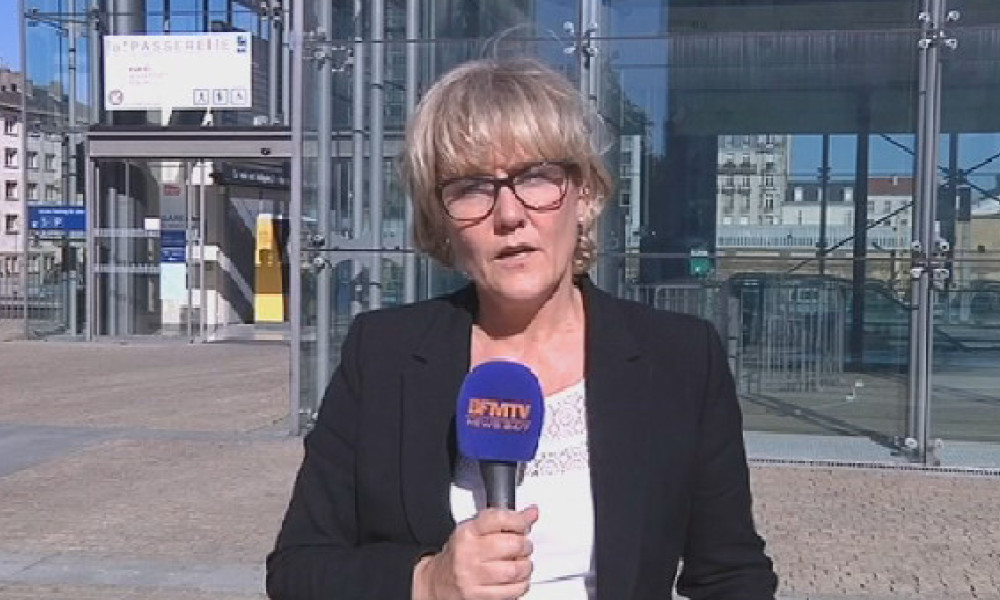 Nadine Morano en direct de Nancy mercredi 30 septembre.