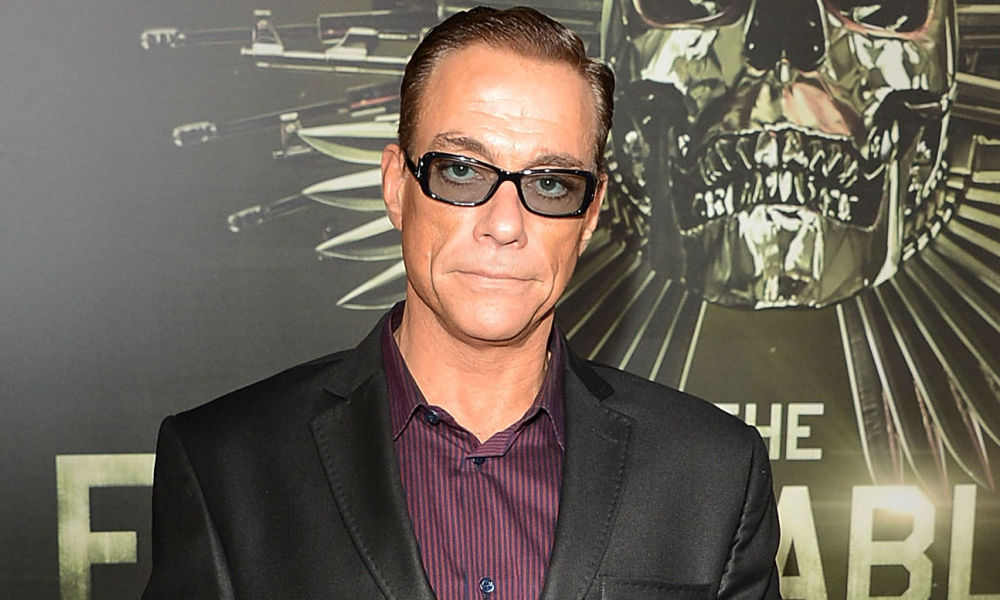"Jean-Claude Van Damme à la première de ""The Expendables 2"" à Hollywood en 2012"