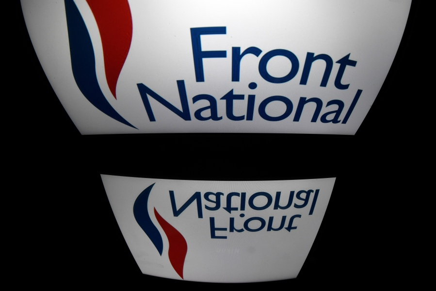 Le Front national est devenu le Rassemblement national en juin 2018.