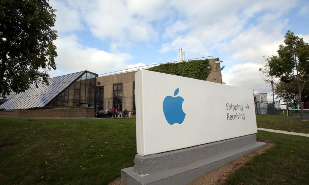 Apple emploie 5.500 personnes à Cork.