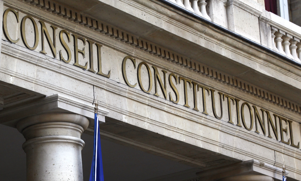 Conseil Constitutionnel Sages