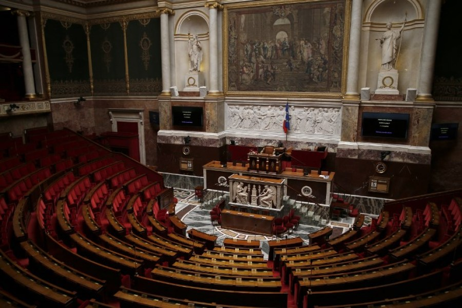 L'hémicycle de l'Assemblée nationale (ILLUSTRATION)