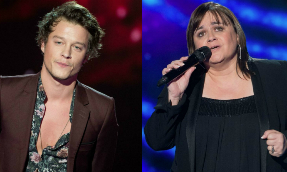 Sidoine et Lisa Angell dans The Voice