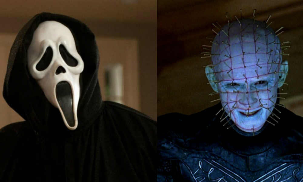 Scream et Hellraiser