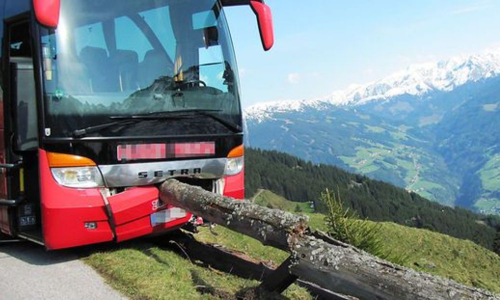 Le bus accidenté