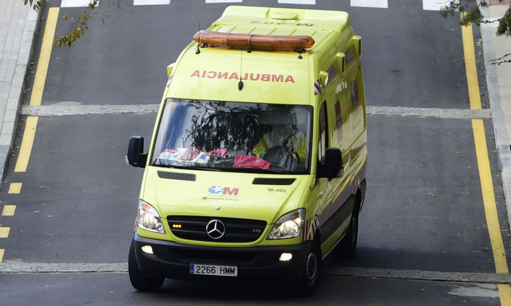 Ambulance à Madrid (illustration)