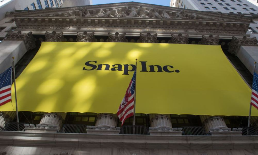 L'introduction de Snap sur le NYSE a été la plus importante à Wall Street depuis 2014