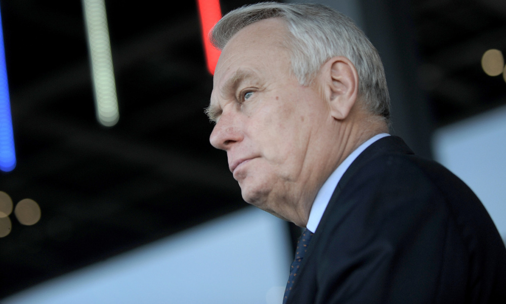 Jean-Marc Ayrault, le 9 avril 2015.