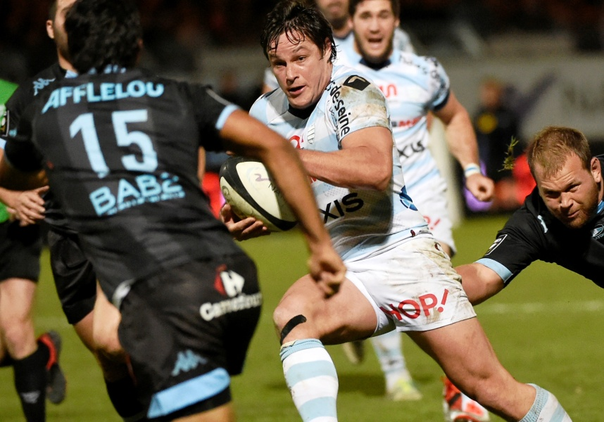 Racing : Roberts et Chavancy au centre face aux Saracens