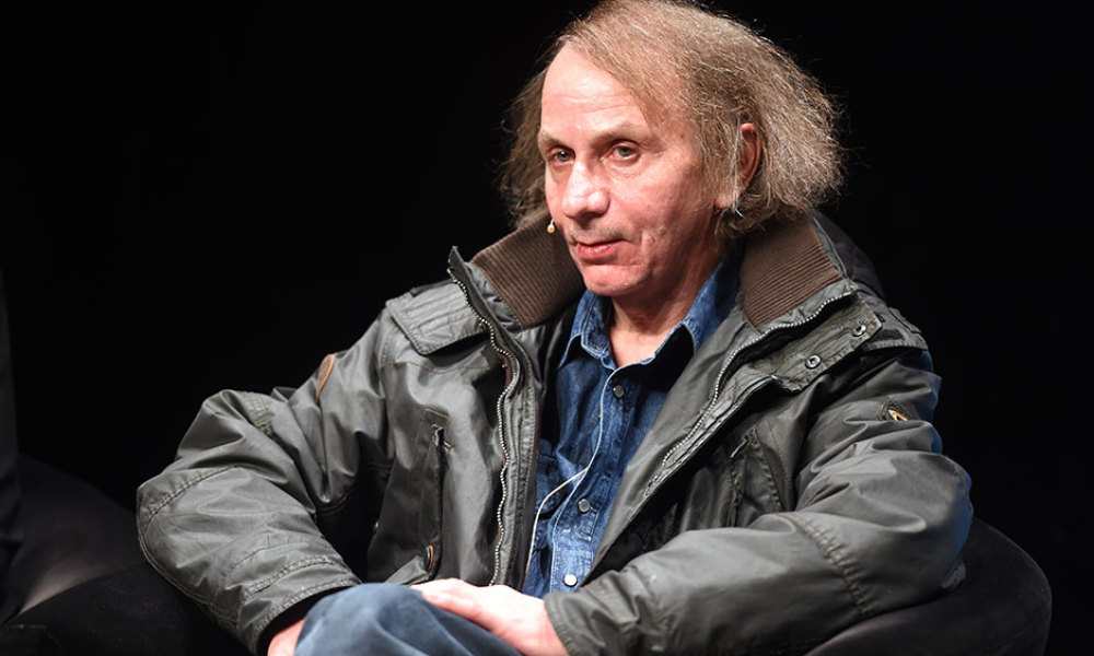 """French author Michel Houellebecq presents his new book """"Soumission"""" (""""Submission"""") before a reading as part of the LitCologne literature festival on January 19, 2015 at Schauspielhaus in Cologne, Germany. """"Soumission"""", the sixth novel by Houellebecq -- one of France's best-known and most widely translated authors -- deals with a subject matter very likely to stir debate in a France, which is undergoing political and economic turmoil."""