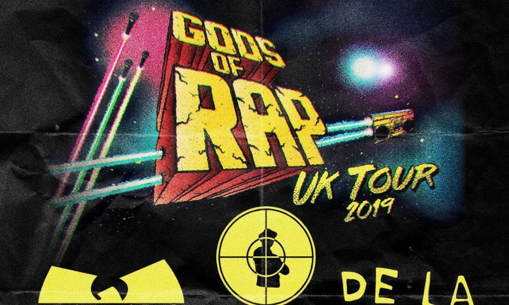 Gods Of Rap UK Tour 2019