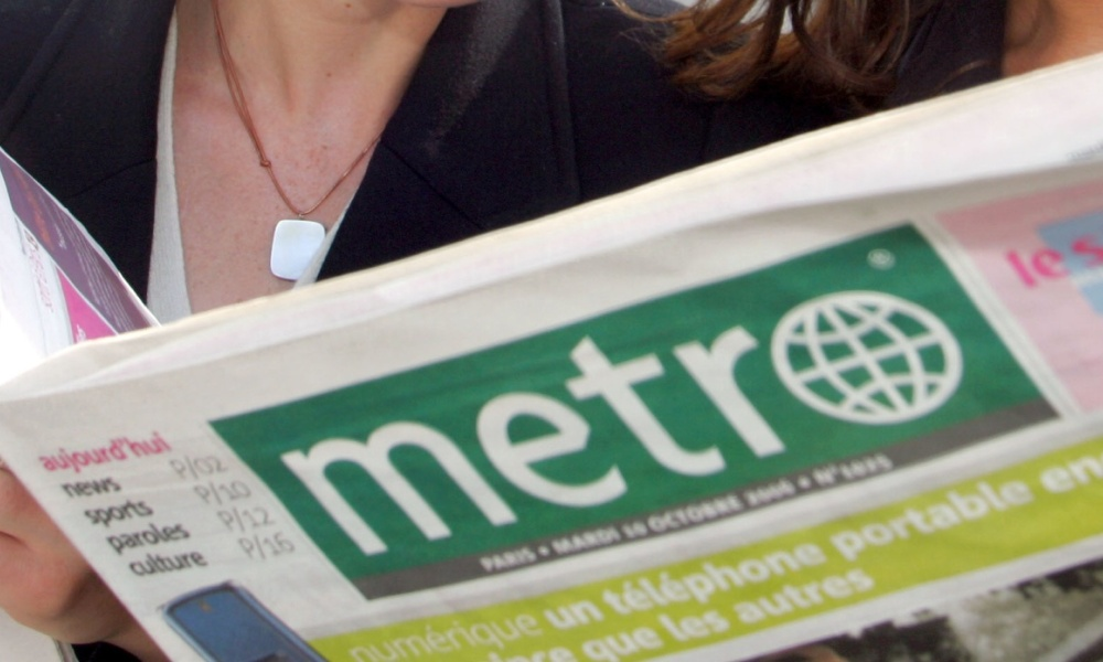 Metronews va supprimer sa version papier