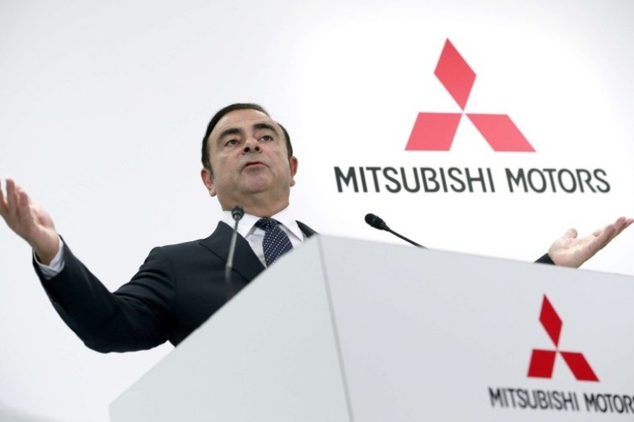 Carlos Ghosn Mitsubishi