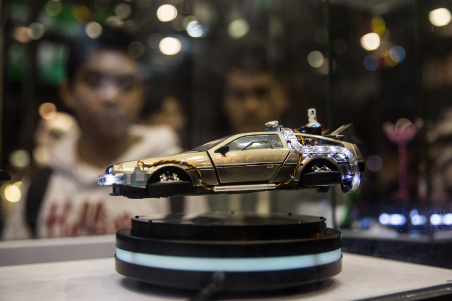 Une figurine de Delorean DMC-12 - Photo d'illustration