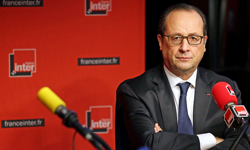 hollande france inter