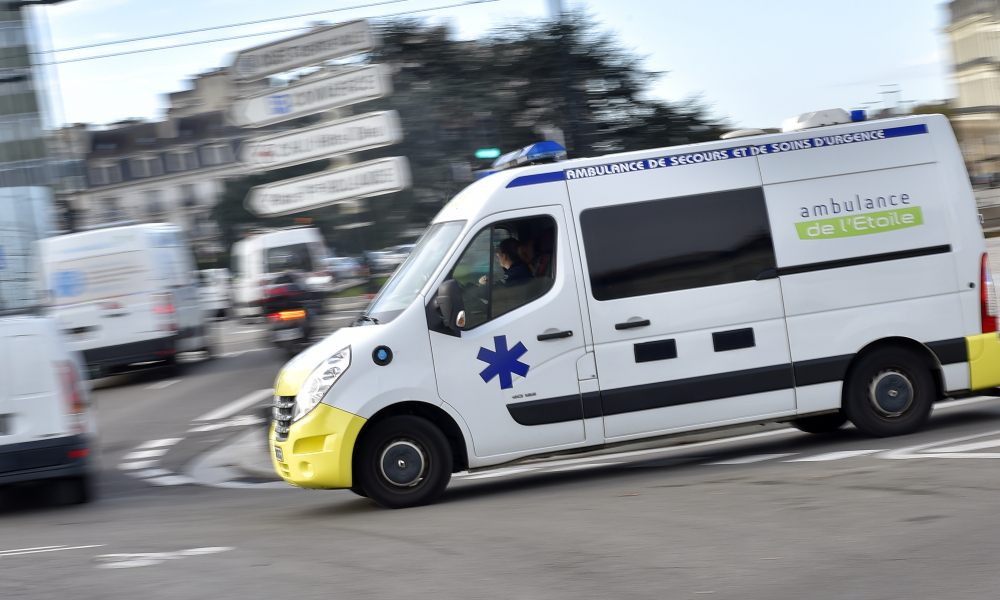 Une ambulance. (Photo d'illustration)