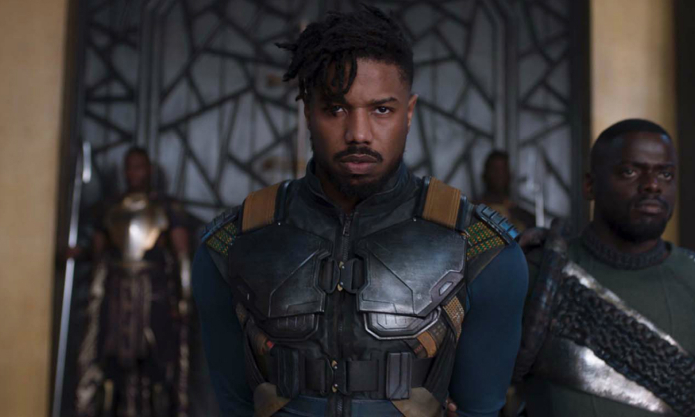 Michael B. Jordan dans Black Panther