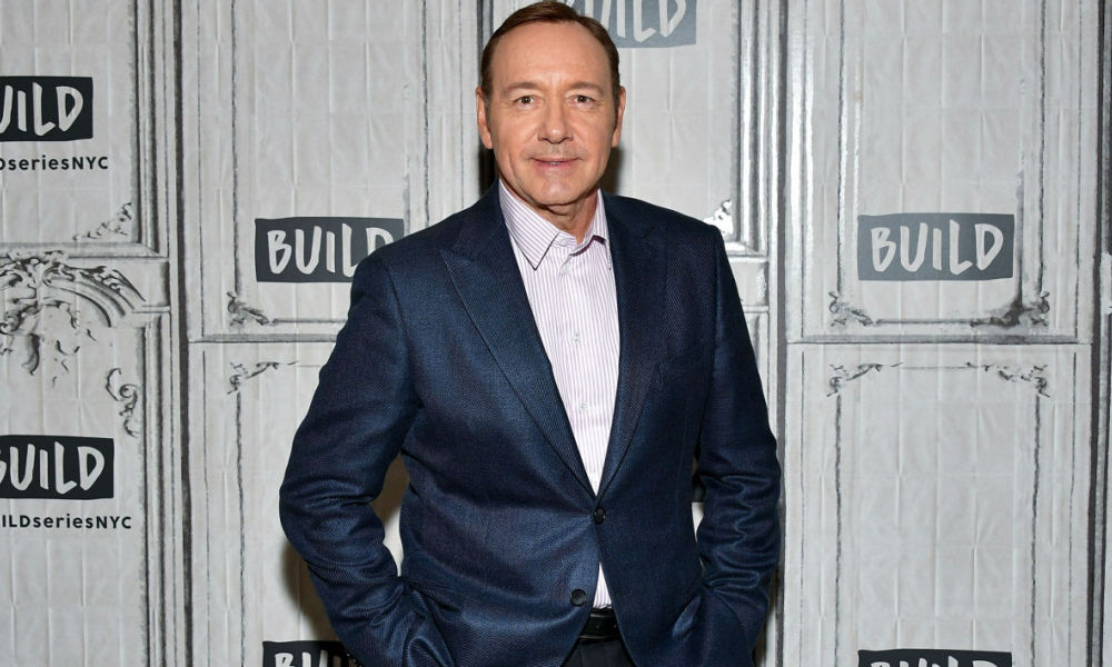 Kevin Spacey à New York en 2017