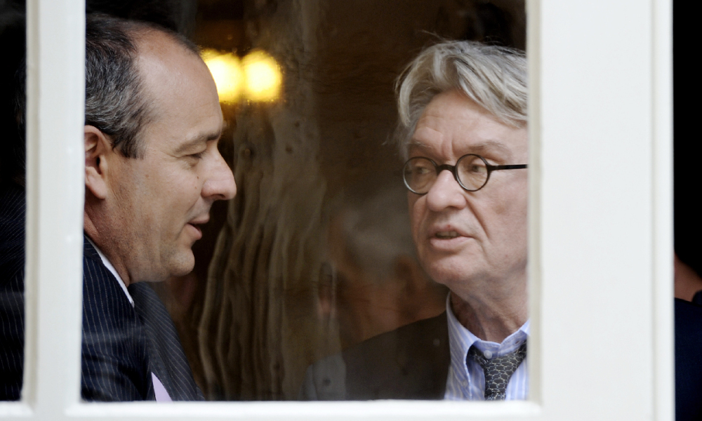 Laurent Berger et Jean-Claude Mailly