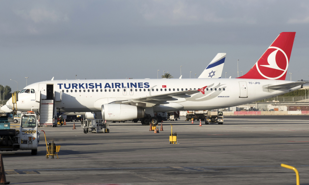 Un avion de la compagnie Turkish Airlines. (photo d'illustration)