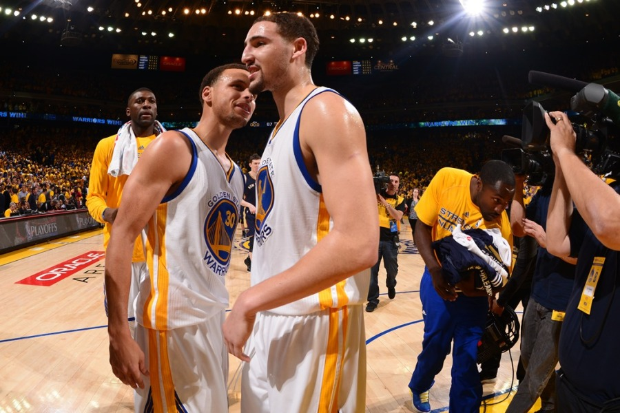 Curry et Thompson