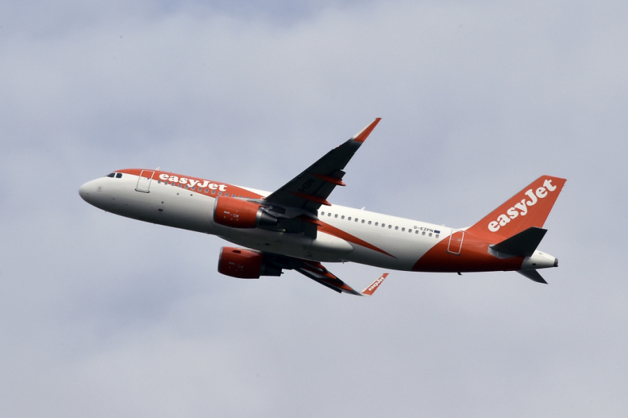 Photo d'illustration avion d'EasyJet