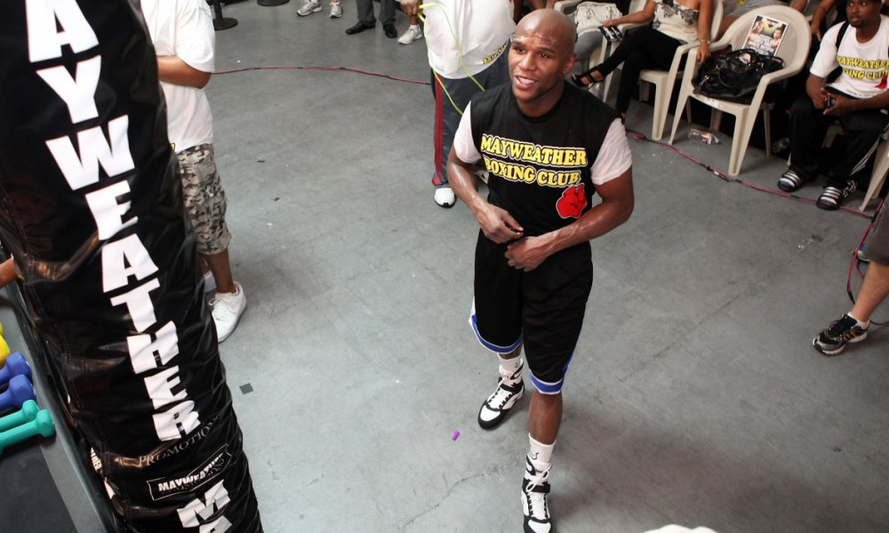Mayweather va battre un record de gains