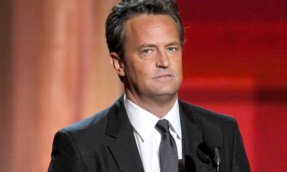 Matthew Perry en septembre 2012