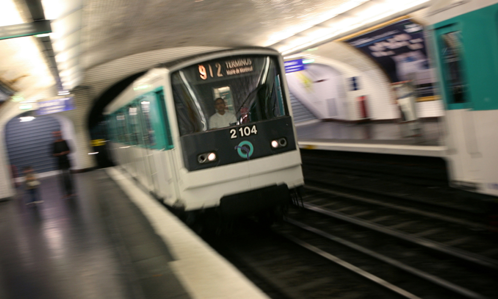 Métro photo d'illustration