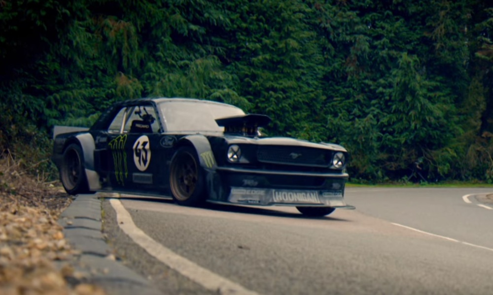 Le pilote Ken Block tente sa chance aux auditions Top Gear.