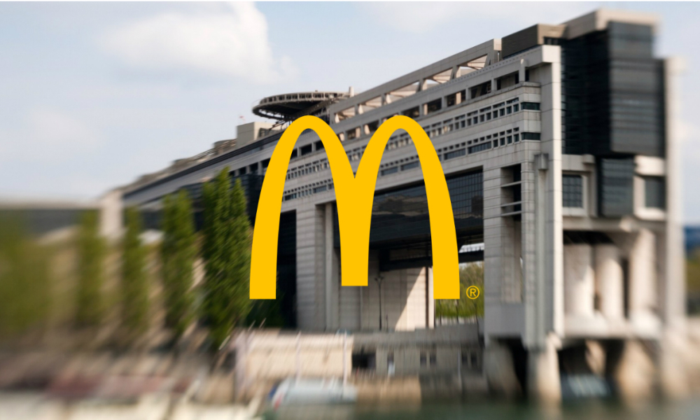 Le copieux redressement fiscal de McDonald's France