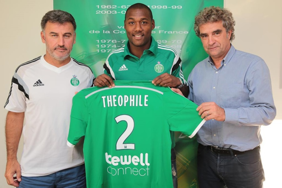 Saint-Etienne officialise Théophile-Catherine