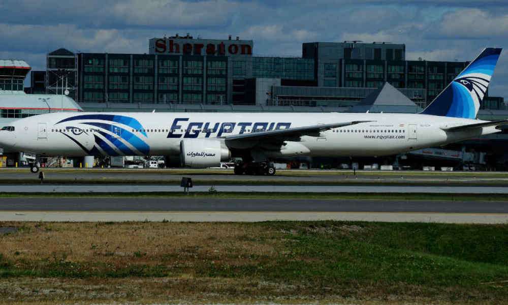 Un avion de la compagnie Egyptair. (Photo d'illustration)