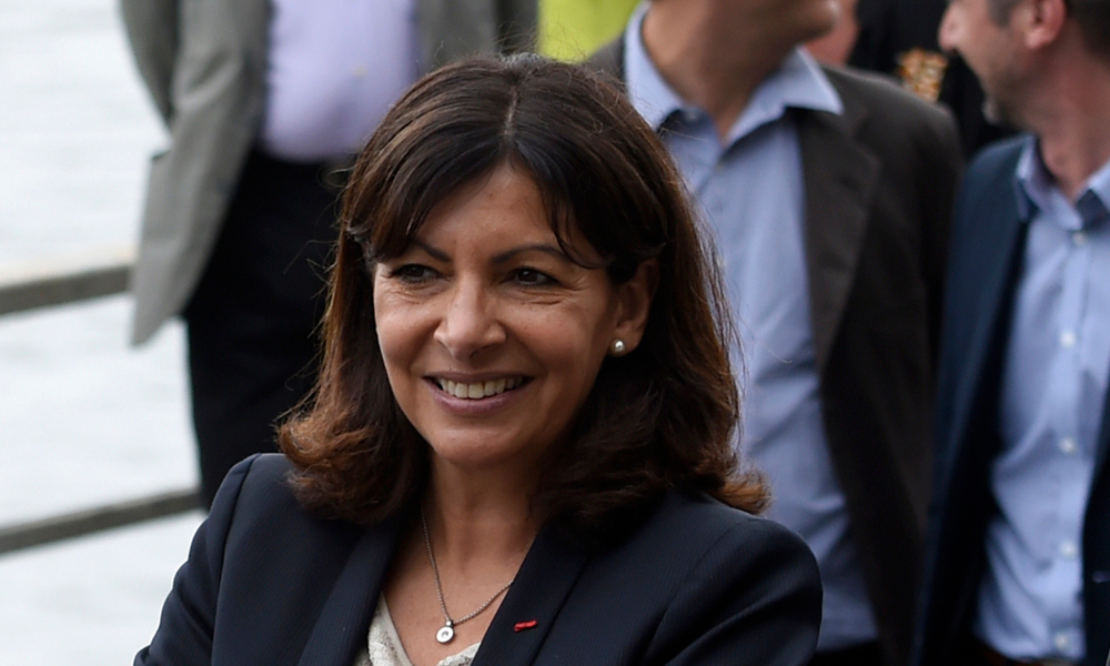 Anne Hidalgo, la maire PS de Paris.
