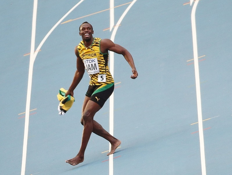 Bolt ne courra plus en 2014