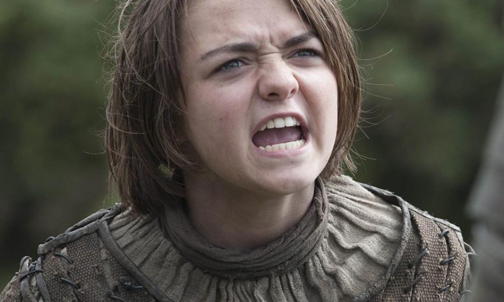 "Maisie Williams incarne Arya Stark dans la série ""Game of Thrones"""