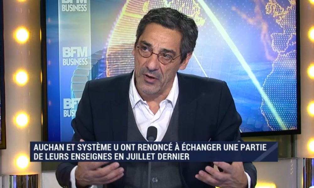 Serge Papin, PDG de Sytème U, était l'invité de Good Morning Business ce lundi.