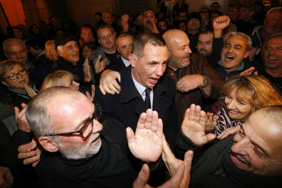 Gilles Simeoni, candidat nationaliste