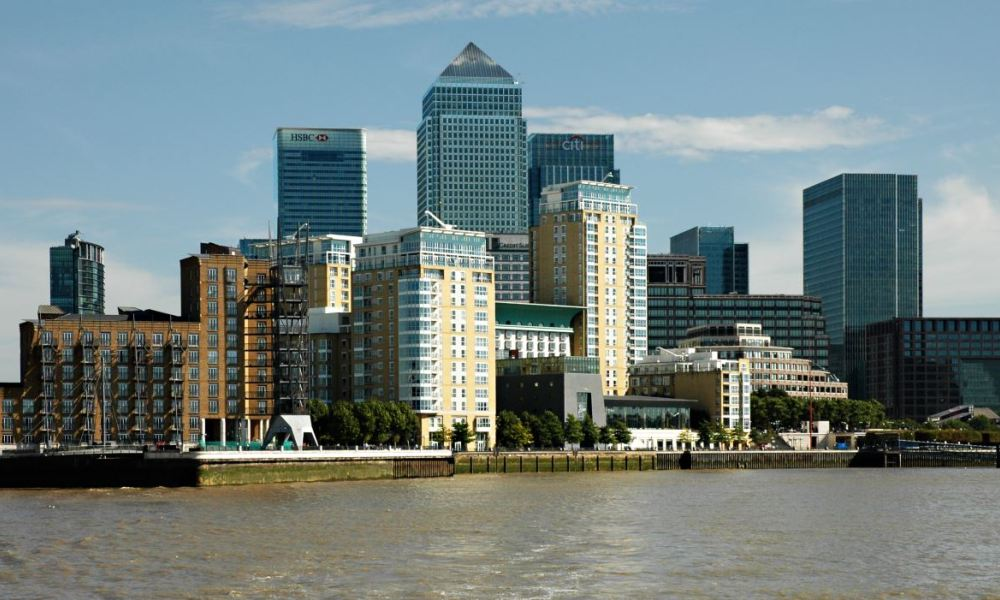 Canary Wharf, l'autre grand centre financier de Londres