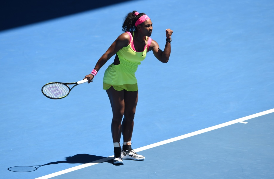 Open d'Australie : S.Williams en mode diesel