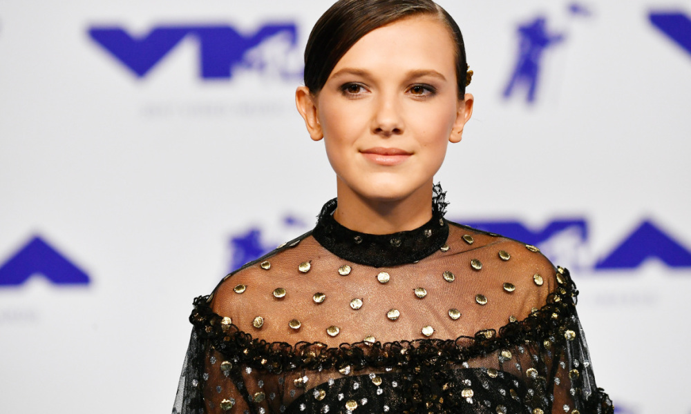 Millie Bobby Brown en août 2017 lors des MTV Video Music Awards